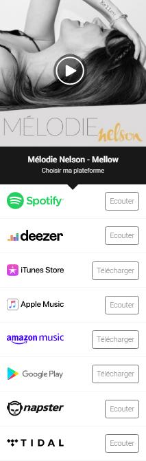"""Écouter """"Mellow"""" le 1er EP de Mélodie Nelson"""